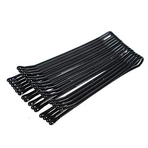 SELLA Épingles à cheveux noires pour femmes pince à cheveux Lady Pins Invisible Wave Hairgrip Barrette Barrette à cheveux Pinces à cheveux Accessoires, vague