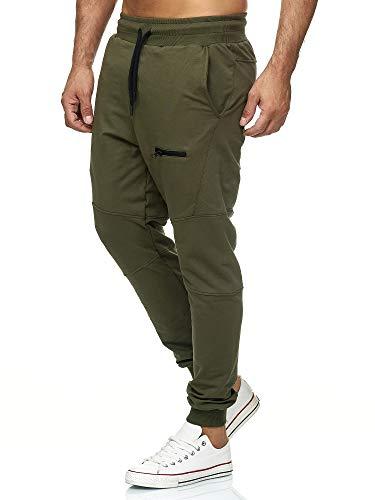 Tazzio Fashion Herren Jogginghosen Weiss