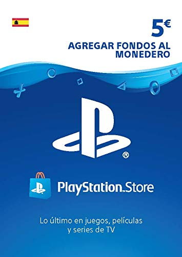 Sony, PlayStation - Tarjeta Prepago PSN 5€ | PS5/PS4/PS3 | Código de descarga PSN - Cuenta española