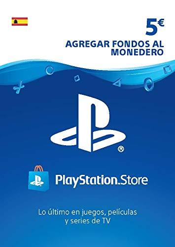 Tarjeta PSN Card 5€ | Código de descarga PS4 - Cuenta española