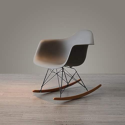 Jiyy Barkruk in Scandinavisch stijl, schommelstoel