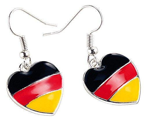 St. Leonhard Ohrhänger-Deutschland: Herzförmige Ohrringe
