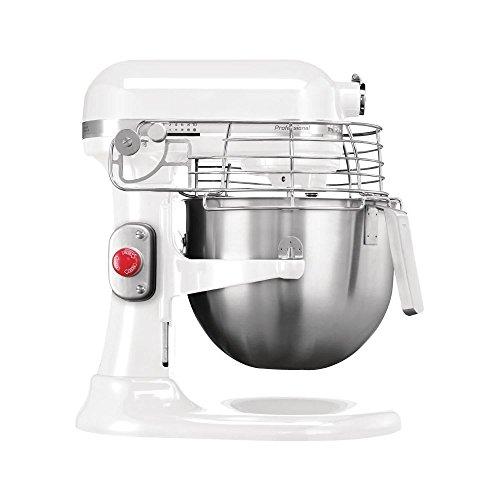 KitchenAid professionelle Küchenmaschine weiß 6,9L