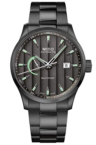 Mido Automatikuhr Multifort Power Reserve Anthrazit M038.424.33.061.00