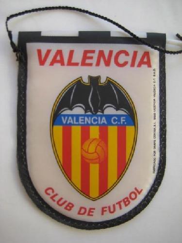 Banderín - Pennant : VALENCIA CLUB DE FUTBOL