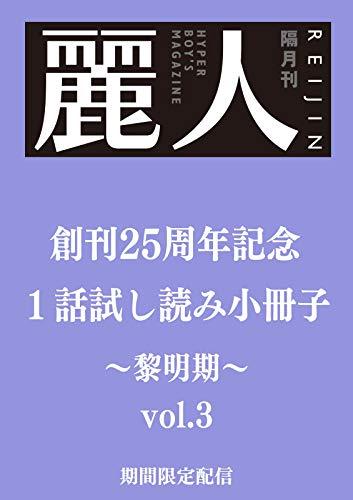 麗人25周年記念小冊子 商業BL黎明期 vol.3