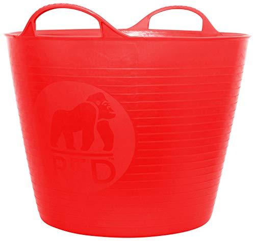 Decco Ltd SP26BL Dicoal Bassine Souple 26 L 26L Rouge (Rosso)