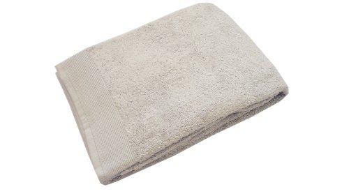 Blanc des Vosges E7S1G-75 Cotton Bath Towel 110 x 55 cm Pearl-Coloured by