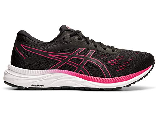 ASICS Women's Gel-Excite 6 Running Shoes, 10M, Black/Rose Petal