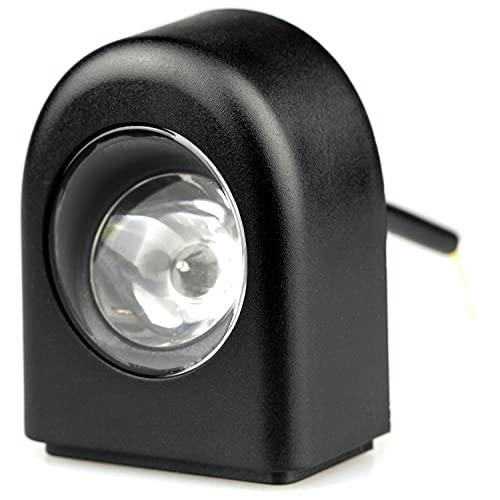 Vestigia - Linterna de repuesto de luz delantera para Xiaomi M365 1S Essential Pro Scooter eléctrico - Piezas de repuesto para E-scooter