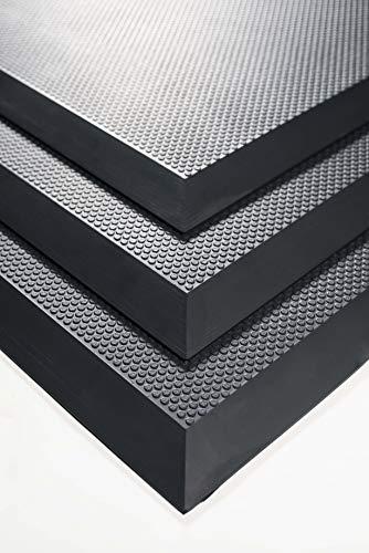 Arbeitsplatzmatte 65 cm x 120 cm Anti-Ermüdungsmatte für Steharbeitsplätze Bodenmatte gelenkschonend