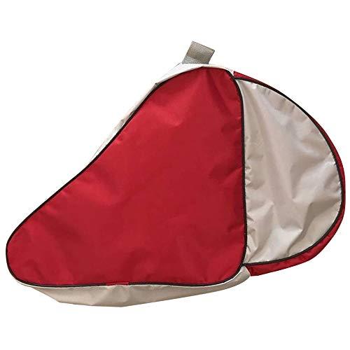 YOFASEN Unisex Bolsa para Patines - Patines en Linea Portátil Skate Bag Mochila Patines de 4 Ruedas Adulto Niños Rojo