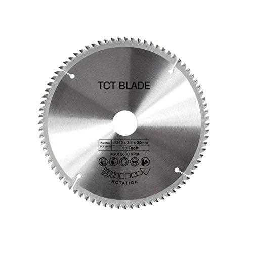 ZhuJinSheng Disco Corte 80 Dientes TCT Disco Sierra