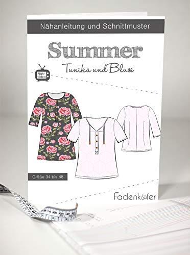 Schnittmuster und Nähanleitung - Damen Tunika und Bluse - Summer