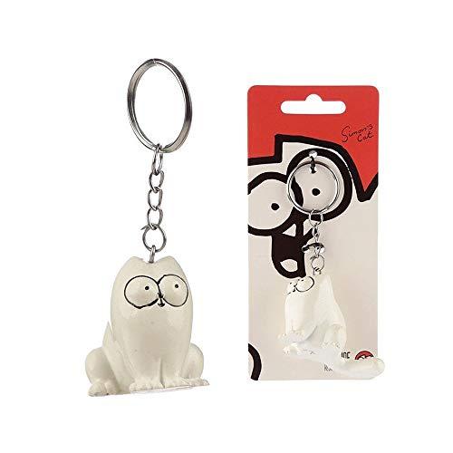 Preisvergleich Produktbild Schlüsselanhänger- Sitzende Katze