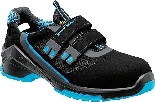 Steitz Secura VD Pro 1000 SF Sicherheits-Sandale S1P SRC ESD EN ISO 20345 schwarz blau   45