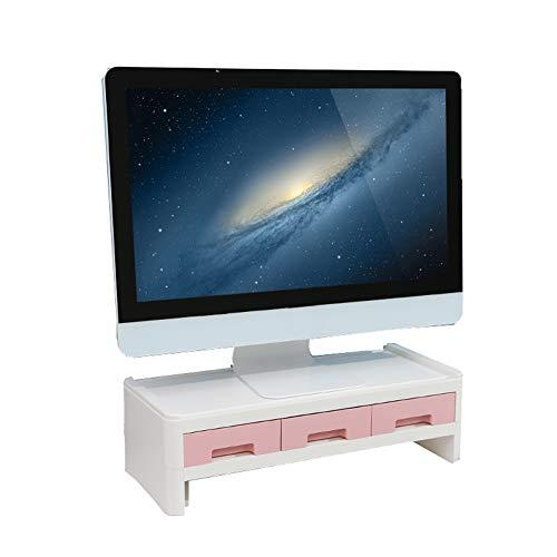 Miao. Monitor Riser Raiser Plinth standaard voor monitor computer-tv 50 x 22,5 x 14 cm