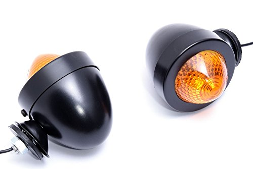 Bullet Blinker mit kurzem Ausleger schwarz