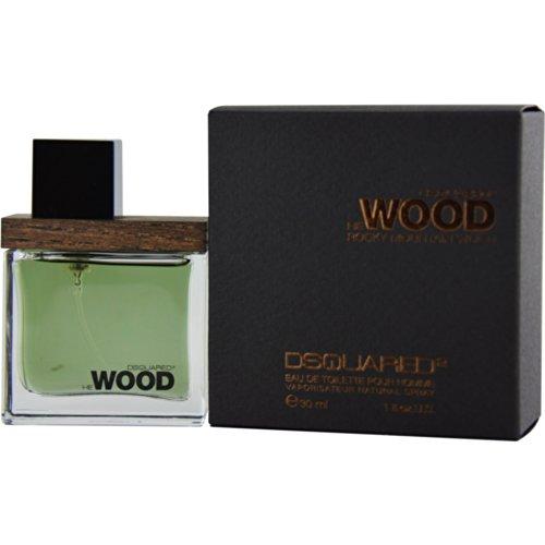 Dsquared He Rocky Mountain Wood homme/man, Eau de Toilette Vaporisateur, 1er Pack (1 x 30 ml)