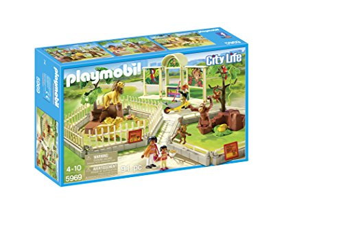 PLAYMOBIL 5969 City Zoo Playset by PLAYMOBIL
