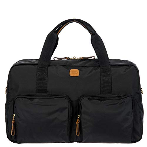 Reisetasche mit Taschen X-Travel, Einheitsgröße.Schwarz