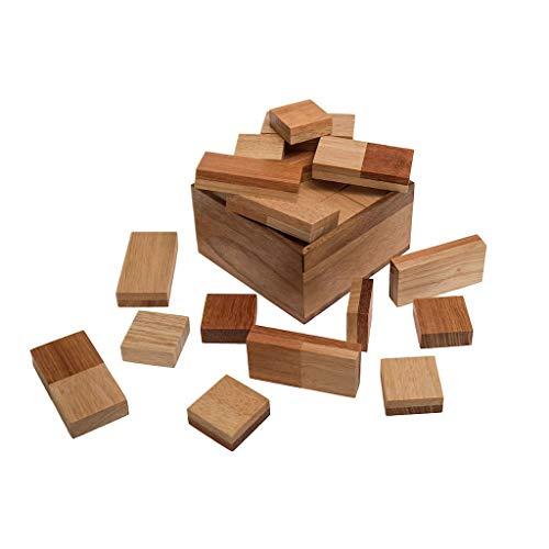ROMBOL I-QUBE (Fred Horn, Niederlande, 2005), Gesellschaftsspiel für 2 Personen, Familienspiel, Brettspiel, Gesellschaftsspiel aus Holz