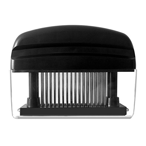 Meat Tenderizer- 48 Ultra Sharp Blades Stainless Steel Needle Home Professional Quality Kitchen Tool For Tenderizing Use On All Types Of Meat