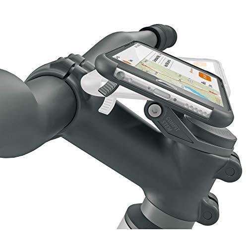 SKS GERMANY Unisex – Adulto Compit Soporte de teléfono, Negro, 6 x 8 x 7 cm