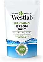 WESTLAB 100% Pure Reviving Epsom Salt, 1 Kg