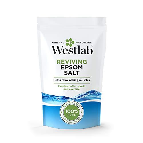 Westlab Reviving Epsom - Sale di Epsom in sacchetto verticale richiudibile, 1 kg