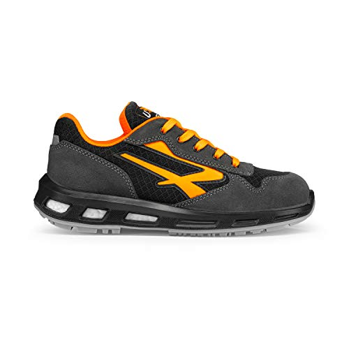 U-POWER S1p SRC, Zapatos de Seguridad Unisex Adulto, Naranja (Orange 000), 42 EU