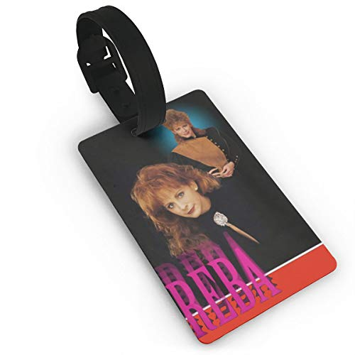 Qwtywqekeertyi Reba Mcentire Luggage Tag. Eye-Catching. Personality