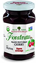 Rigoni di Asiago Fiordifrutta Organic Fruit Spread, Cherry, 6 Count, 8.82 oz