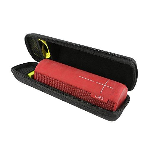 Khanka Hart Tasche Schutzhülle für Ultimate Ears UE MEGABOOM Tragbarer Bluetooth Lautsprecher sepaker Etui Case.(Nur tasche)