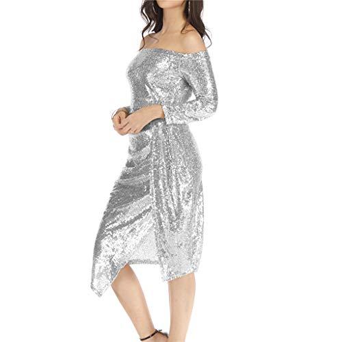 TWIFER Damen Flapper Kleider Voller Pailletten Retro Motto Party Kostüm Kleid