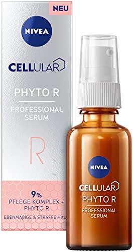 NIVEA Cellular Professional Serum Phyto R (30 ml), pflanzliche Alternative zum Retinol Serum, feuchtigkeitsspendendes Anti Falten Serum für einen ebenmäßigeren Teint