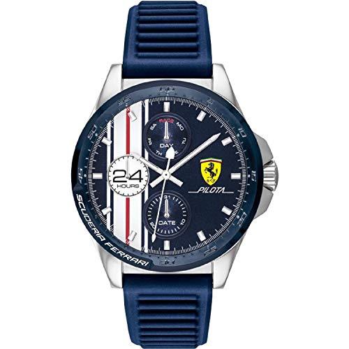 Scuderia Ferrari Reloj Analógico para Hombre de Cuarzo con