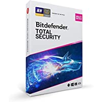 Bitdefender Total Security 2021 for PC/Mac (5 Devices)