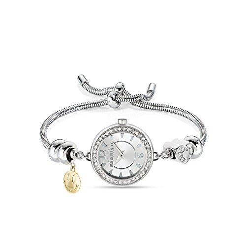 MORELLATO Reloj Analógico para Mujer de Cuarzo con Correa en Acero Inoxidable R0153122585
