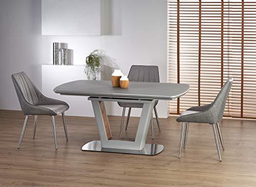 CARELLIA Table à Manger Design Extensible 160÷200 x 90 x 76 cm