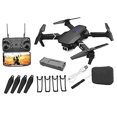 Hainice GPS Drone E88 PRO per Adulti 4K Camera Pieghevole Video Live Drone RC Quadcopter Aircrafts con 1 Battery