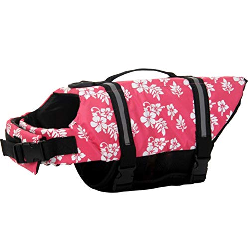 qingqingxiaowu Chalecos Salvavidas para Perros Chaleco Salvavidas Perro Pequeño Waterproof Dog Jackets Pet Life Jackets Dog Coats For Large Dogs Waterproof pink1,s