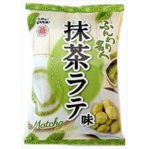 越後製菓 米菓 ふんわり名人 抹茶ラテ 35g×12入