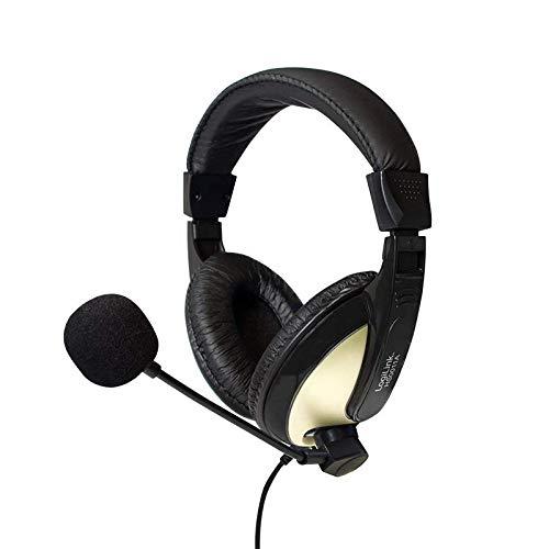 Dieses Moderne Headset ist bestens für Internet Telefonie, Video-Konferenzen, Spracherkennung und interaktive Spiele geeignet