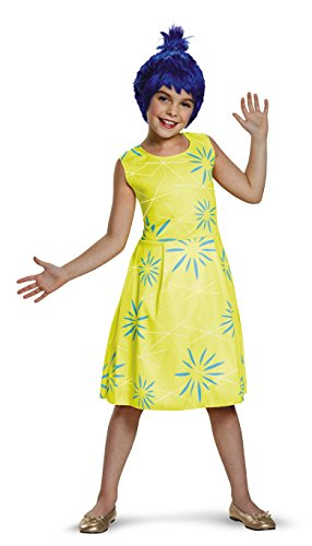 Disguise Inc – Disney Inside Out – Classic Joy Costume For Girls