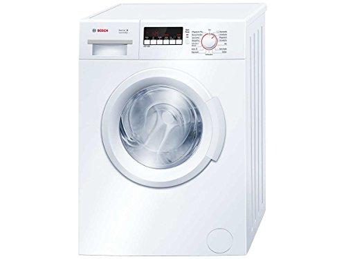 Bosch Serie 2 WAB28270 Wasmachine, vrijstaand, voorlader, 6 kg, 1400 omw/min, A+++ (vrijstaand, frontlader, wit, deurscharnier links, LED, 140