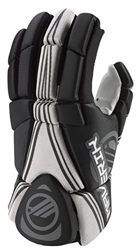 Maverik Lacrosse Charger Glove, Black, X-Small