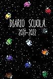 Diario Scuola 2021-2022: Agenda Scolastica Giornaliera 12 Mesi Elementari Medie Superiori | Per Ragazzo e ragazze | Calendario | Gamer