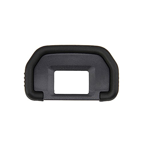 2 Types Camera Eyecup JJC Eye Cup Eyepiece Viewfinder for Canon 6D Mark II 6D 5D Mark II 5D 90D 80D 70D 60D 60Da 50D 40D 30D 20Da 20D 10D etc Replaces Canon Eye Cup Oval Soft TPU Rubber -2 Pack