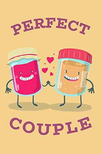 Perfect Couple: Cute Peanut Butter & Jelly Notebook Journal